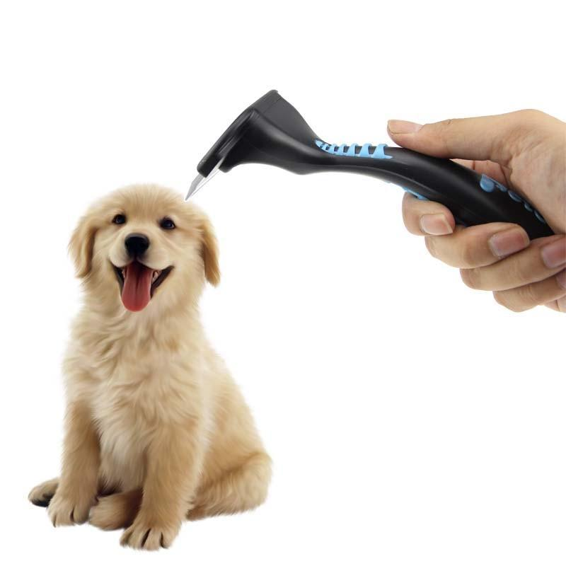 Soft Grip Fine Tooth Pet Deshedding Brush - Shop pets food, toys & clothing | Dog & Cat Supplies and Accessories!
