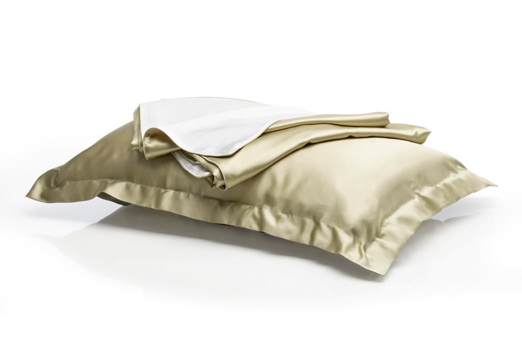MULBERRY SILK QUEEN SIZE SET - 22 momme - DOUBLE FACE DUVET COVER