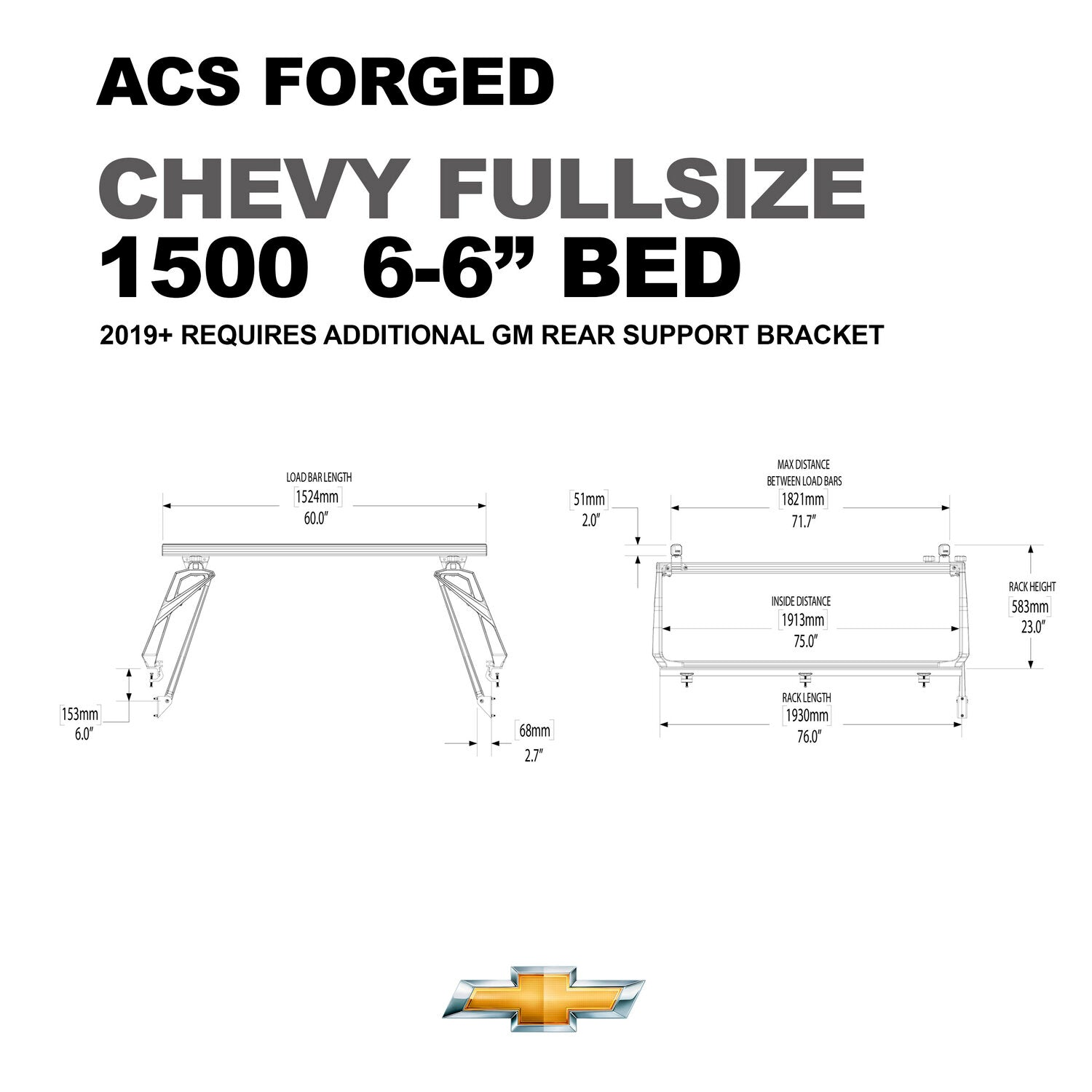Active Cargo System - FORGED - Chevrolet