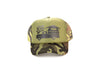 CARRY YOUR WORLD - FOAM TRUCKER HAT (Olive Camo)