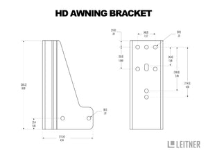 HD Awning Bracket