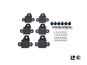 Leitner / KC HiLiTES 339 C-Series RGB LED Rock Light Kit with ACS Brackets