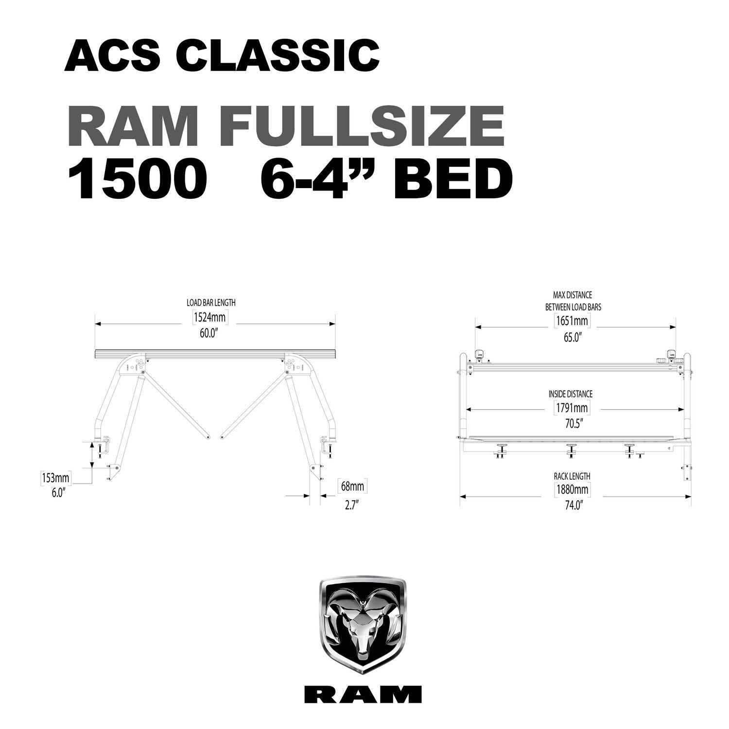 Active Cargo System - CLASSIC - RAM