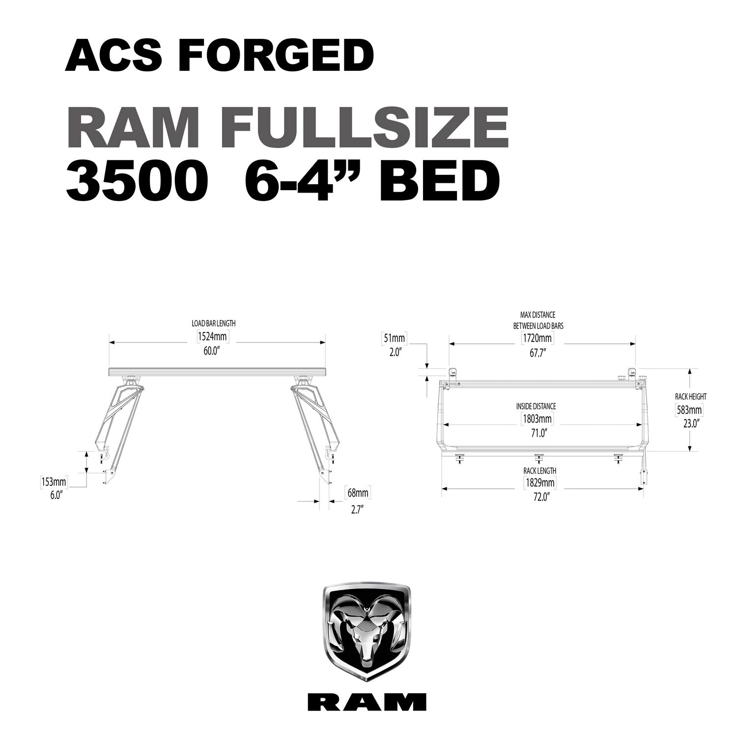 Active Cargo System - FORGED - RAM
