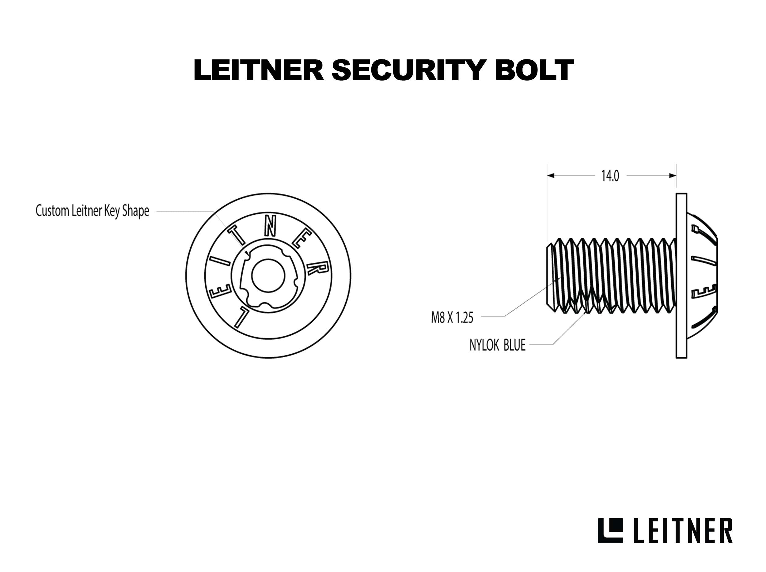 SECURITY BOLT KIT