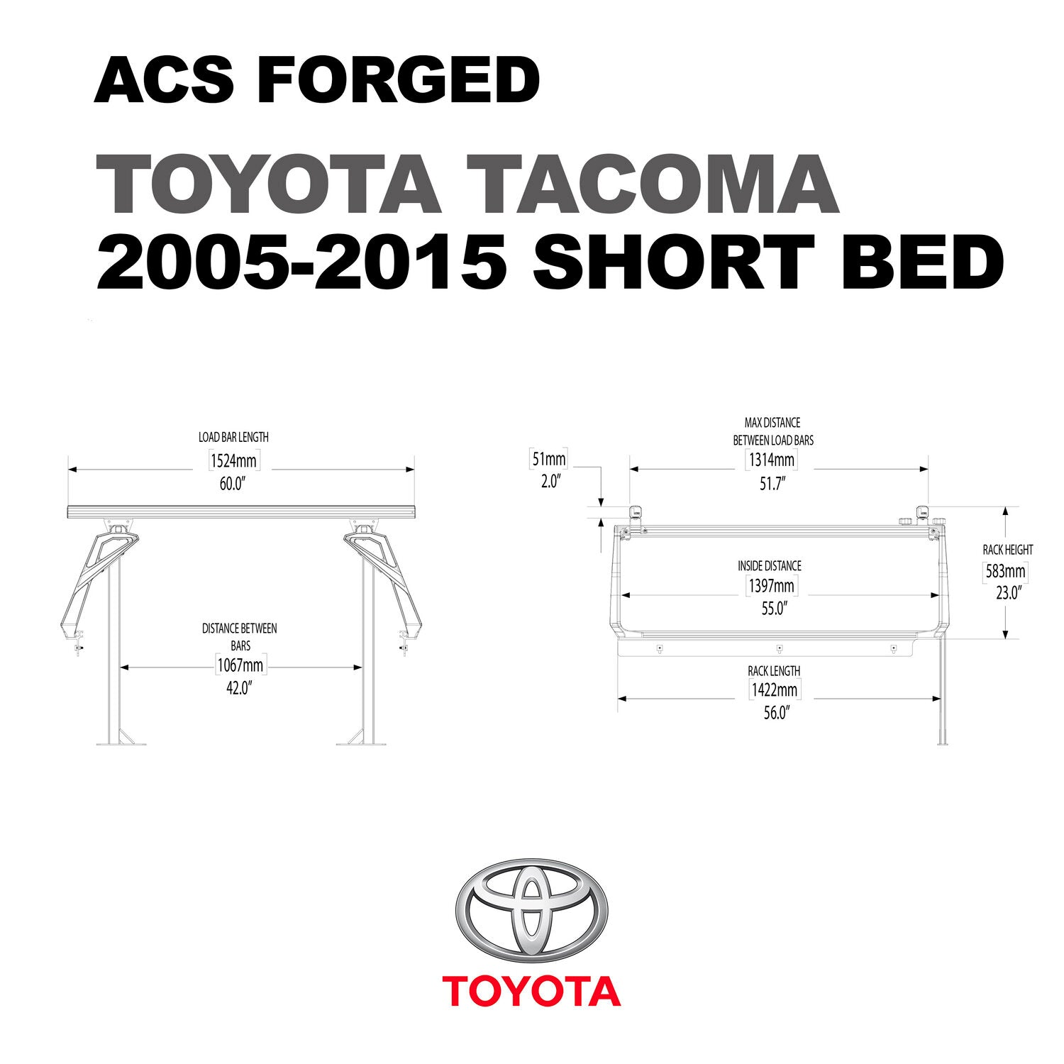 Active Cargo System - FORGED - Toyota