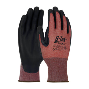 G-Tek PolyKor 16-368 and 16-X585: The Next Generation Cut Resistant Glove with Touch Screen Compatibility