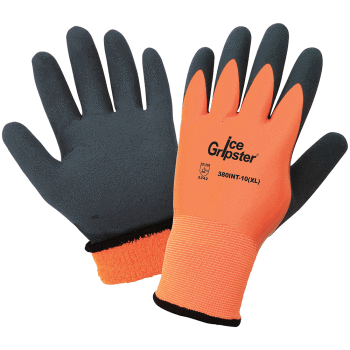 Introducing the New Ice Gripster 380INT Cold Weather, Water Resistant Work Glove