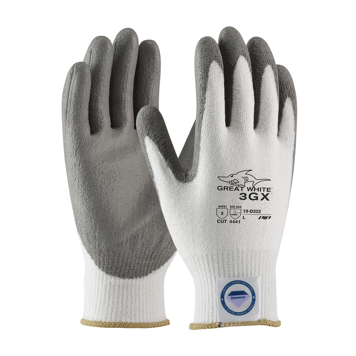 10 Pairs Dyneema Cut resistant Level 4 Safety Work Gloves