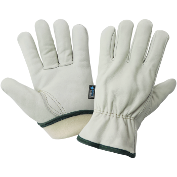 Cowhide Leather Insulated Driver Style Gloves 3200CTH