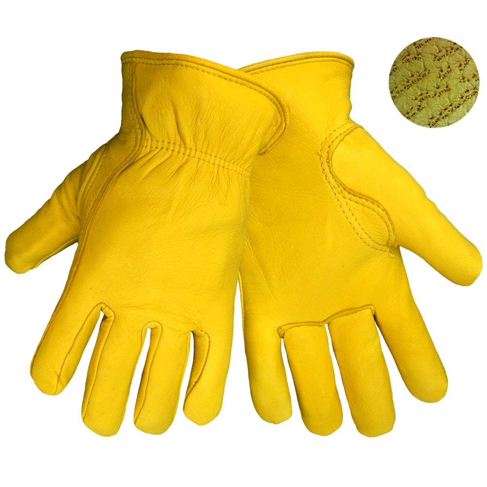 3200D Premium Deerskin Leather Work Gloves