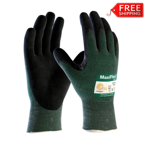 Maxiflex Cut 34 8743 Cut Resistant Work Gloves By Atg
