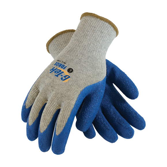 G-Tek® Force 39-C1300 Premium Grade Cut-Resistant Latex Coated  Work Gloves