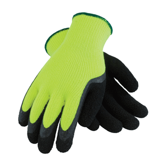 PIP® 41-1420 Hi-Vis Cold Condition Latex Coated Work Glove