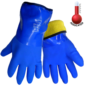 Frogwear 8490 insulated chemical resistant gloves