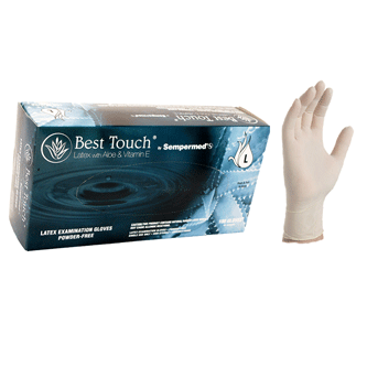 BestTouch Latex Exam Gloves