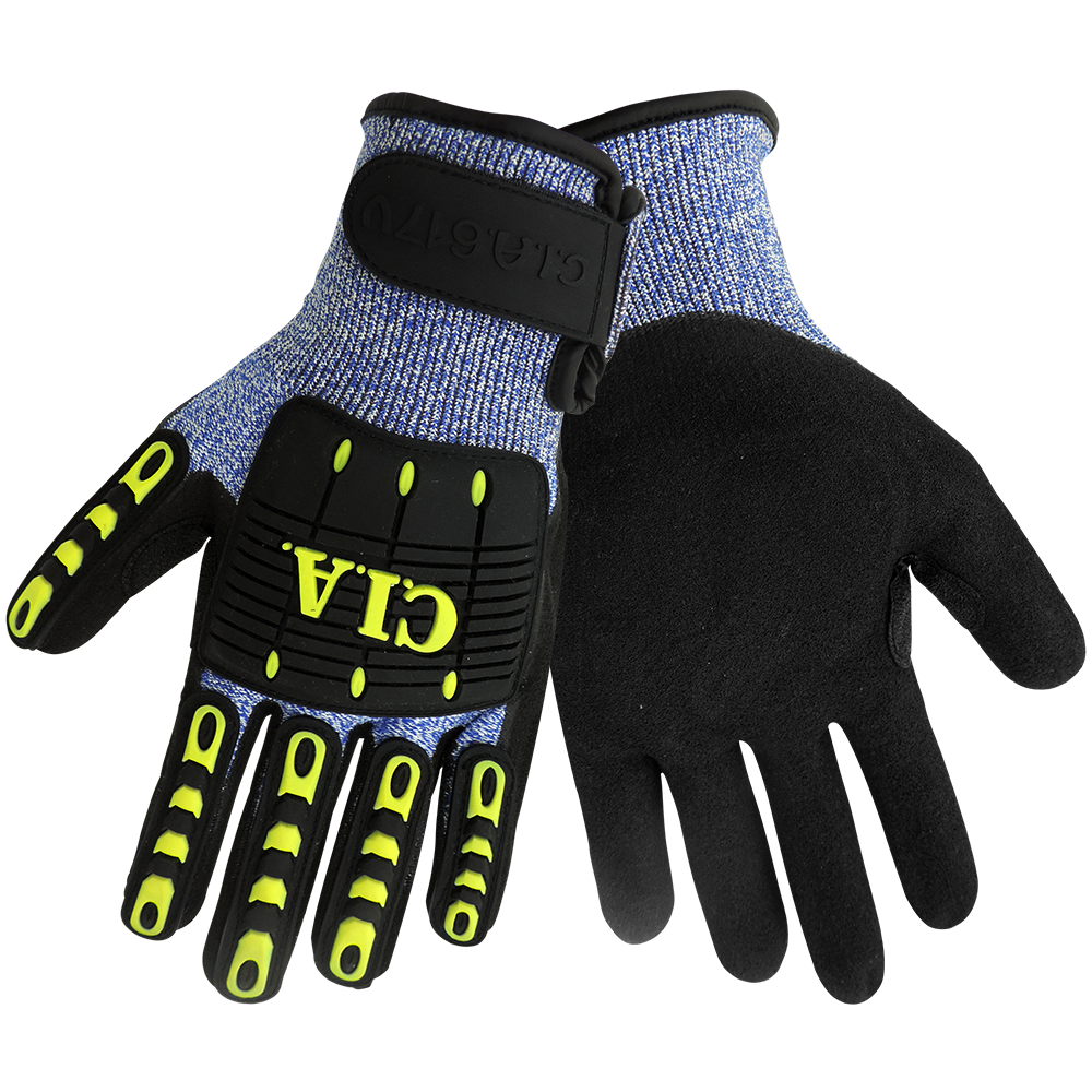 Cia617v Vice Gripster 174 Impact Resistant Work Glove Cut