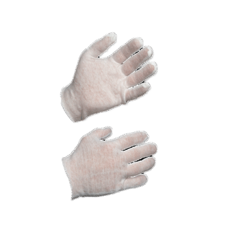 Cotton Glove Liners To Be Worn Under Latex Nitrile And