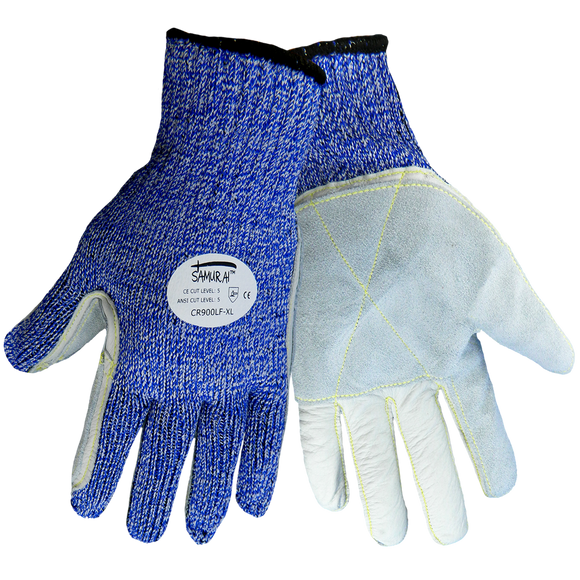 CR900LF HDPE/Leather Gloves