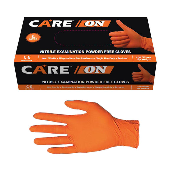 Care On Orange Nitrile