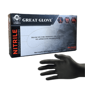 Great Glove Industrial Black Nitrile
