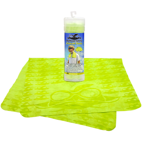 Bullhead Safety® Yellow Cooling Towel