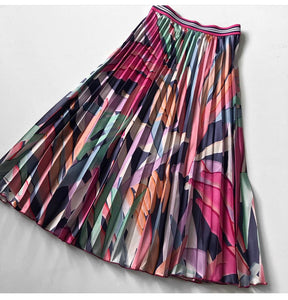 The Chrissie Abstract Skirt