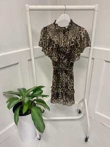 The Dannie Leopard Dress
