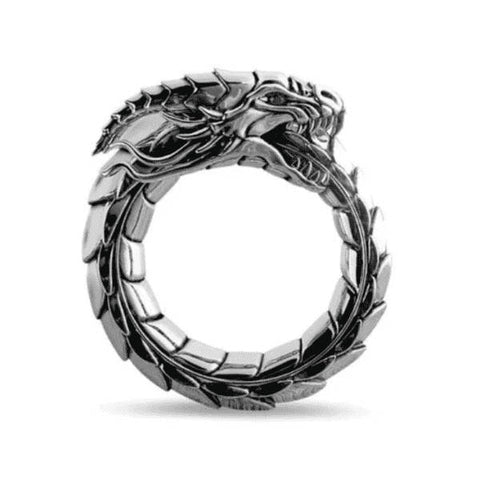bague dragon mythologique