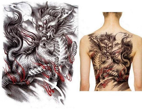 Tatouage Dragon Biker