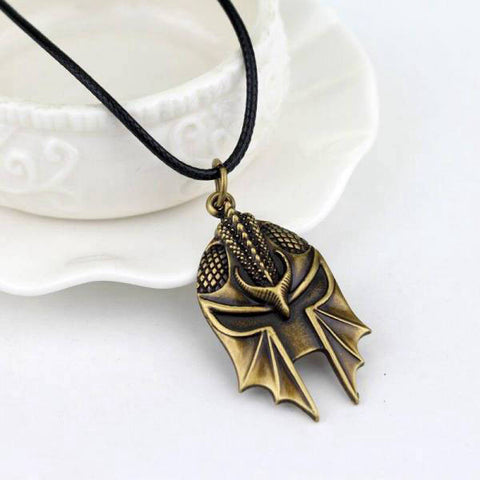 Collier Dragon Spartiate
