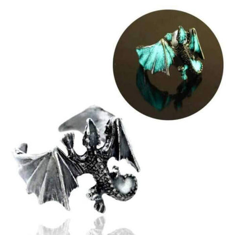 Bague Dragon <br> Fluorescente