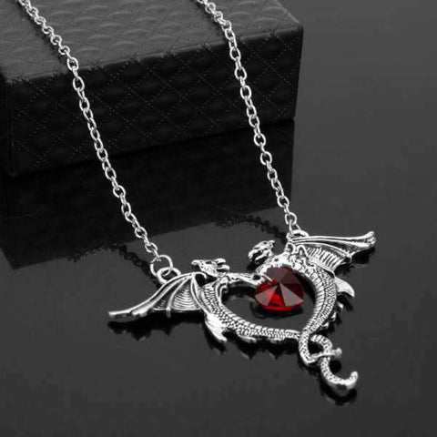 Collier Dragon Amour
