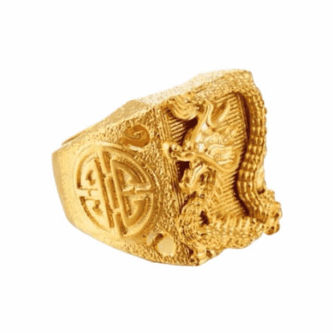 Bague Dragon<br> Inca
