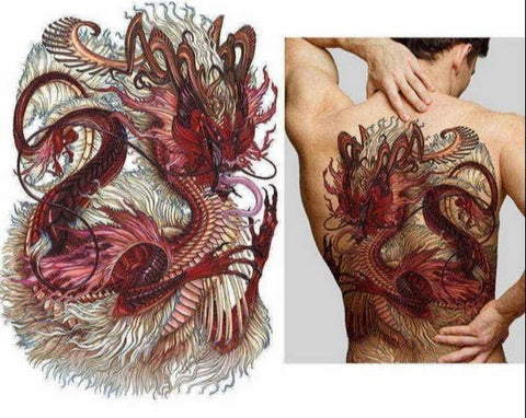 Tatouage DragonBouddha