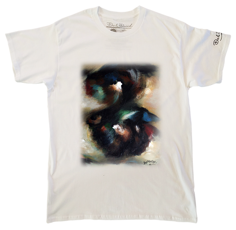 Abstract Movement Luxury T-Shirt