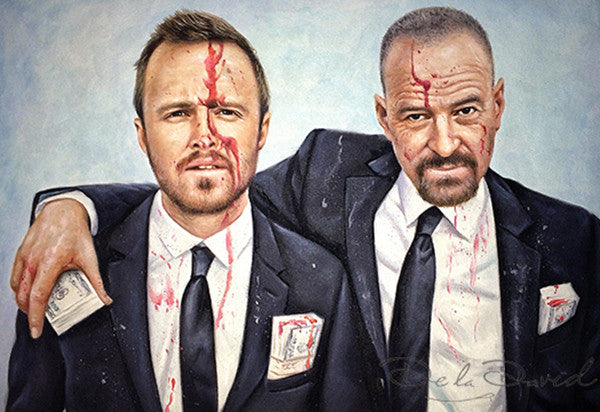 Breaking Bad For Blood Money Painting