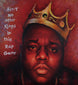 Hop Hop Royalty; Biggie Smalls Painting