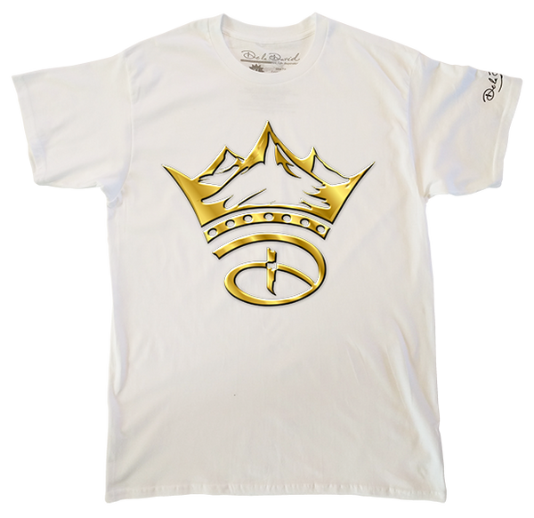 The Gold Creative Crown Luxury T-Shirt