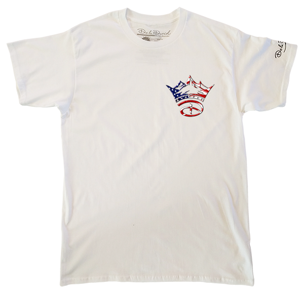 USA Creative Crown Luxury T-Shirt