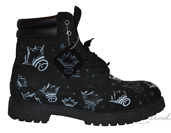 The Creative Crown Hand Painted Timberland 6-Inch Premium Waterproof Boots