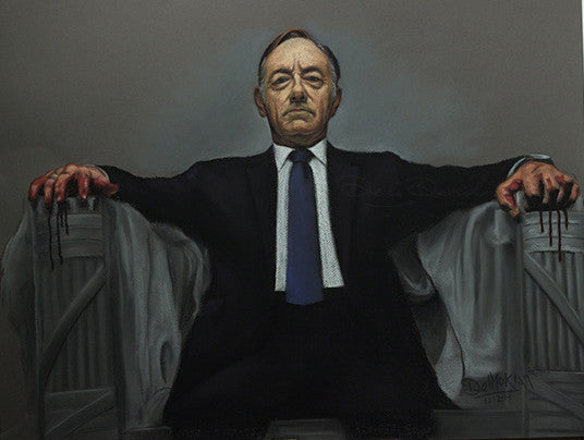 House of Cards: Position of Power Painting