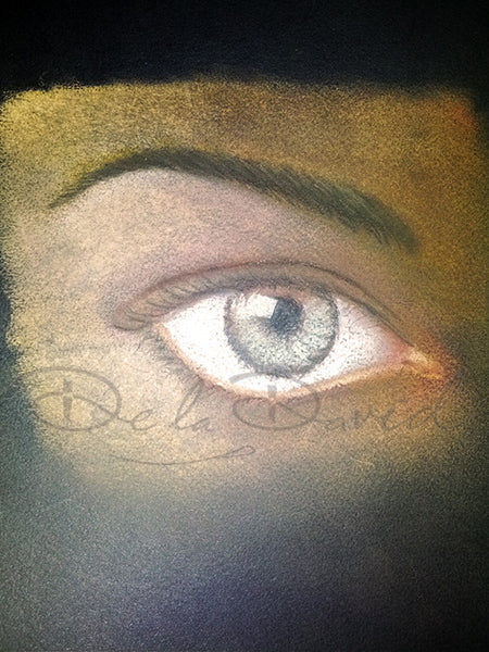 Just the Window to the Soul Painting