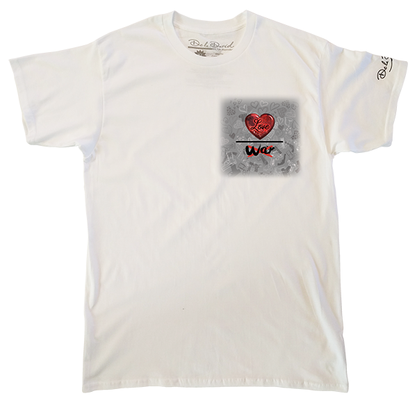 Love Over War Mens Perfect T-Shirt