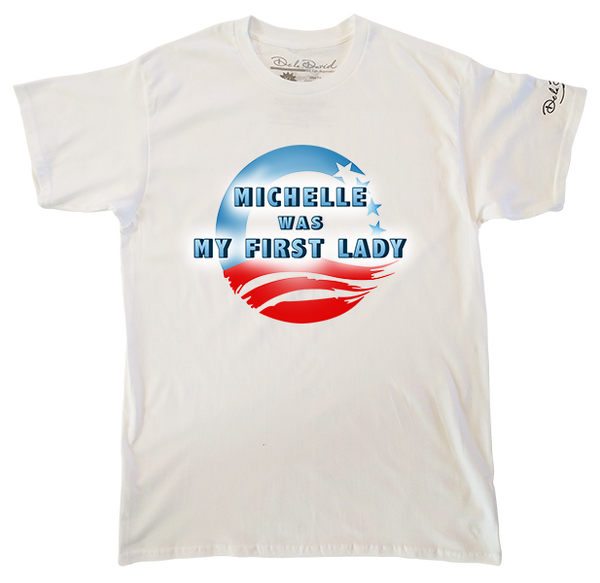 Michelle Was My First Lady Mens Perfect T-Shirt