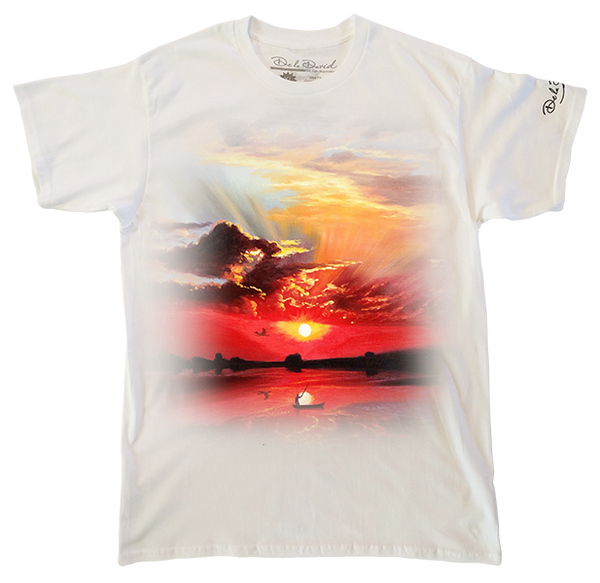 Nature's Beauty Reflected Mens Perfect T-Shirt