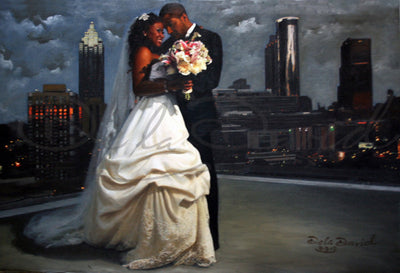 Commissioned Bridal Paintings