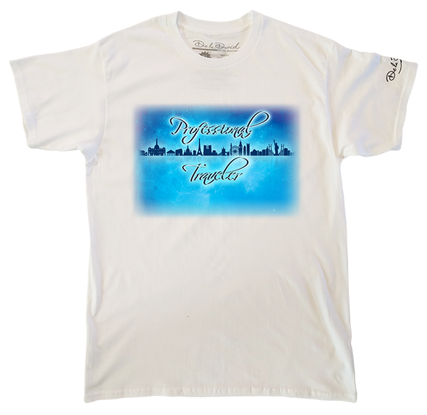 Professional Traveler Luxury T-Shirt