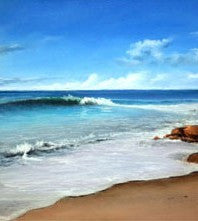 Rocky Shores Painting