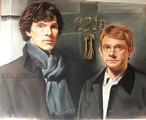 Sherlocked Painting